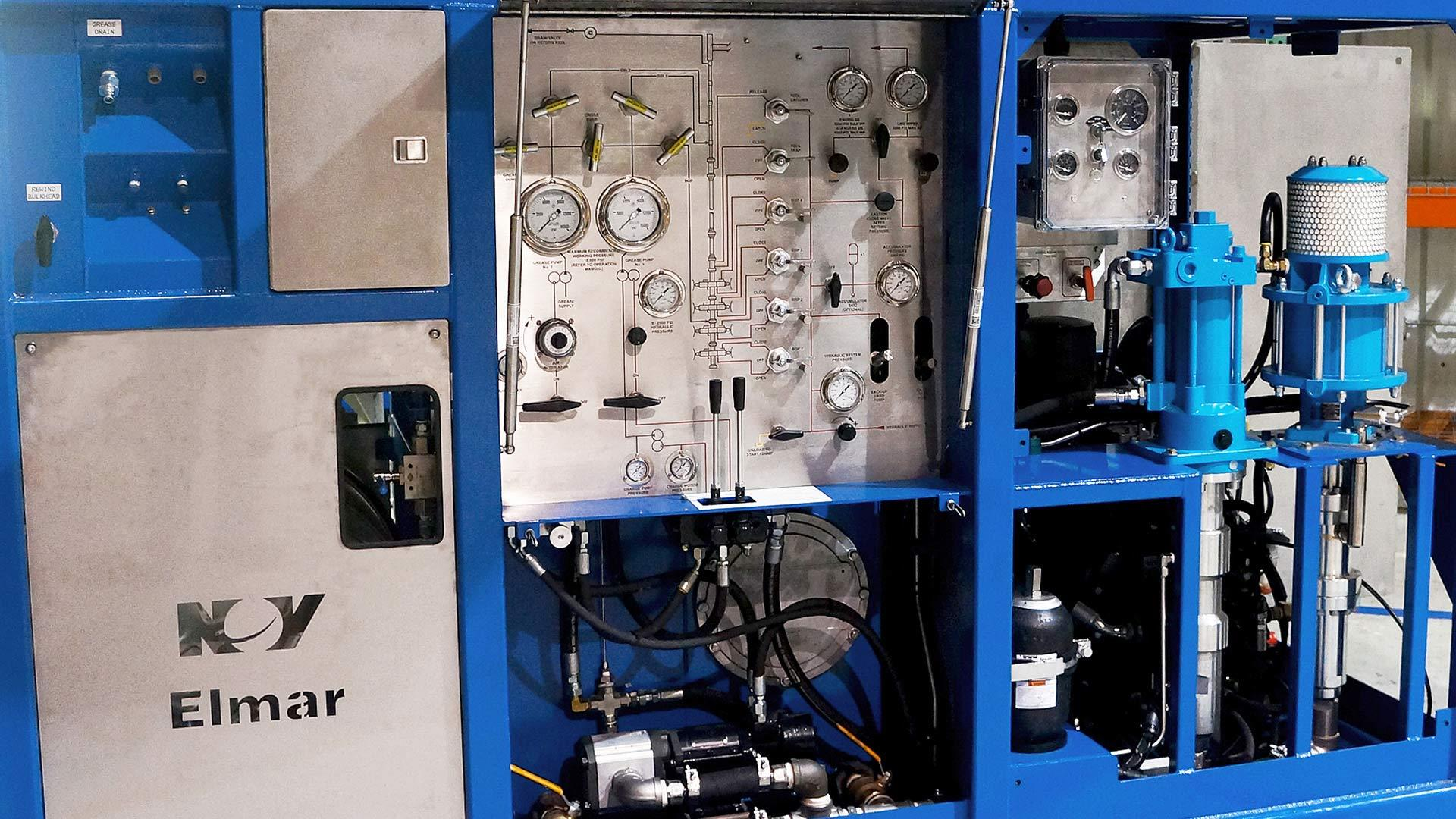 Control Panel for 10 Series Diesel Driven Hydraulic Control