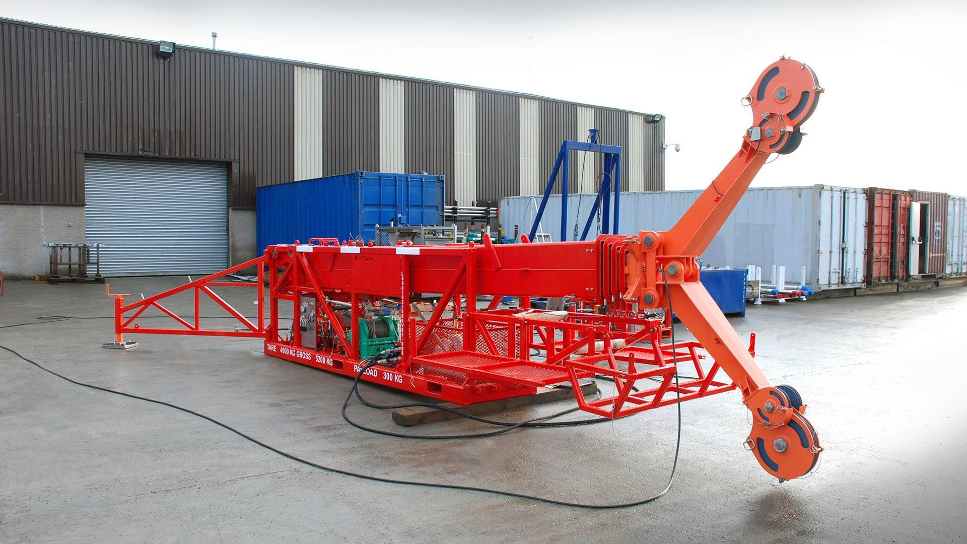 70-foot Zone 1 Lightweight Wireline Mast