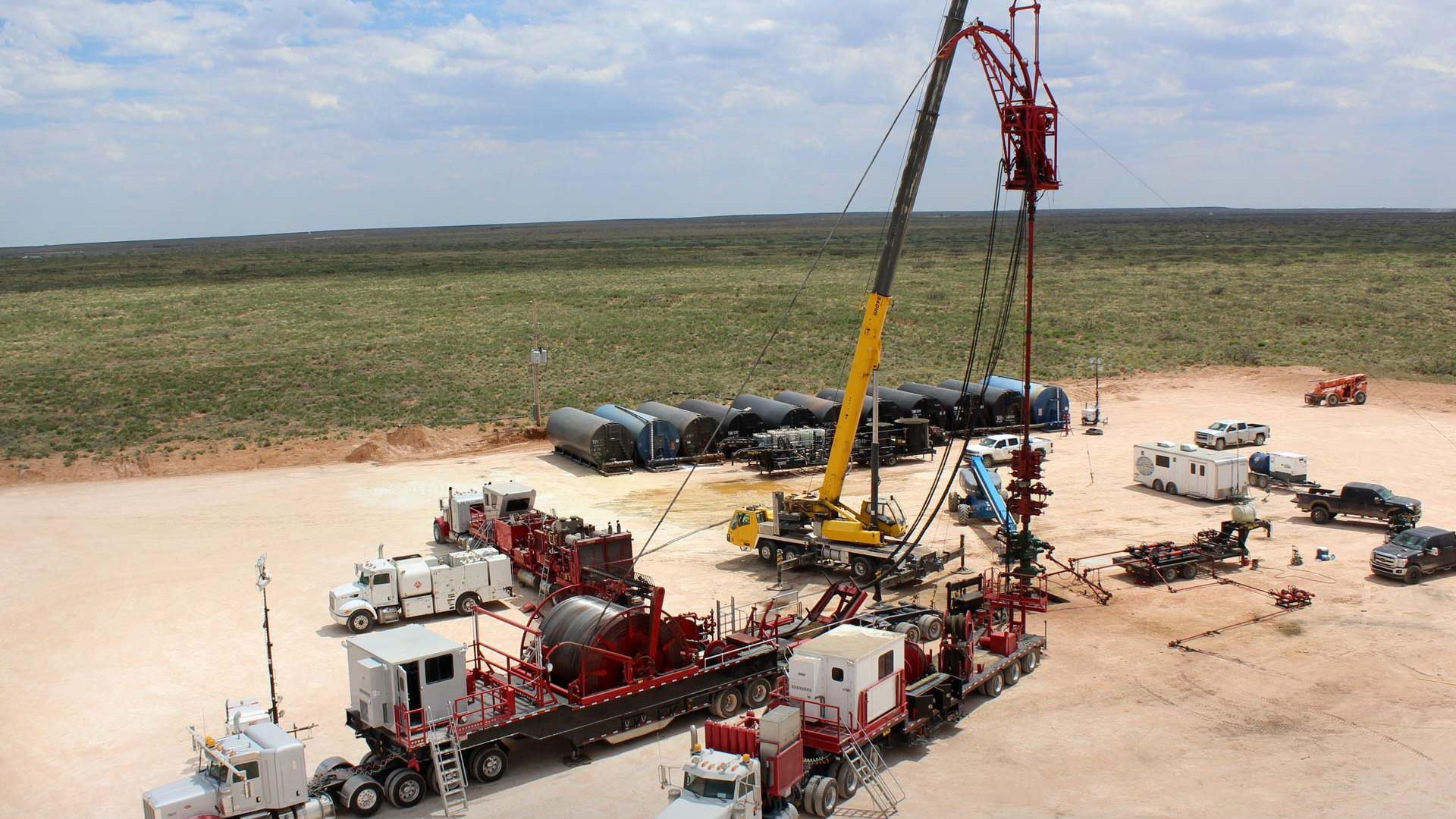 Aerial view of Condition-Based Maintenance System