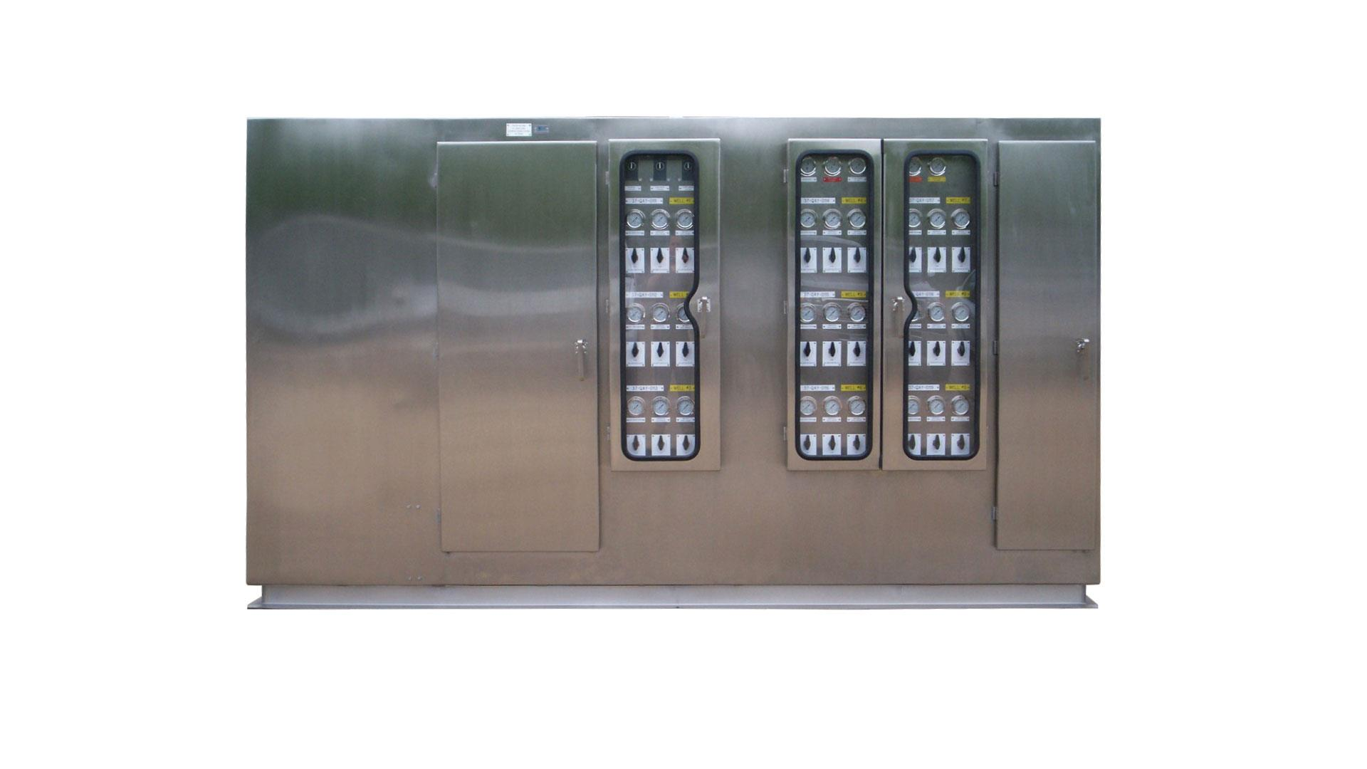 Single Well Control Systems Wellhead Control Panel
