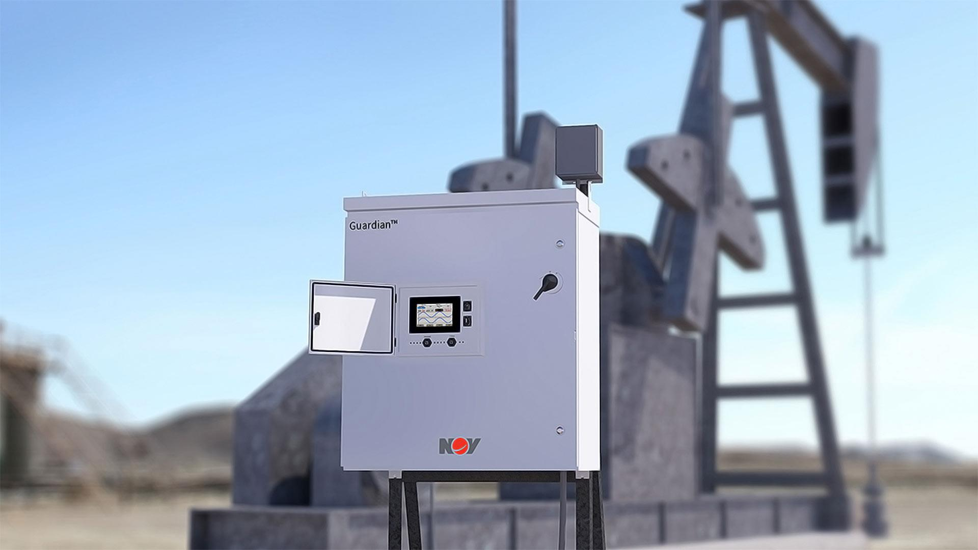 Render of Guardian VFD PC Pump Controller