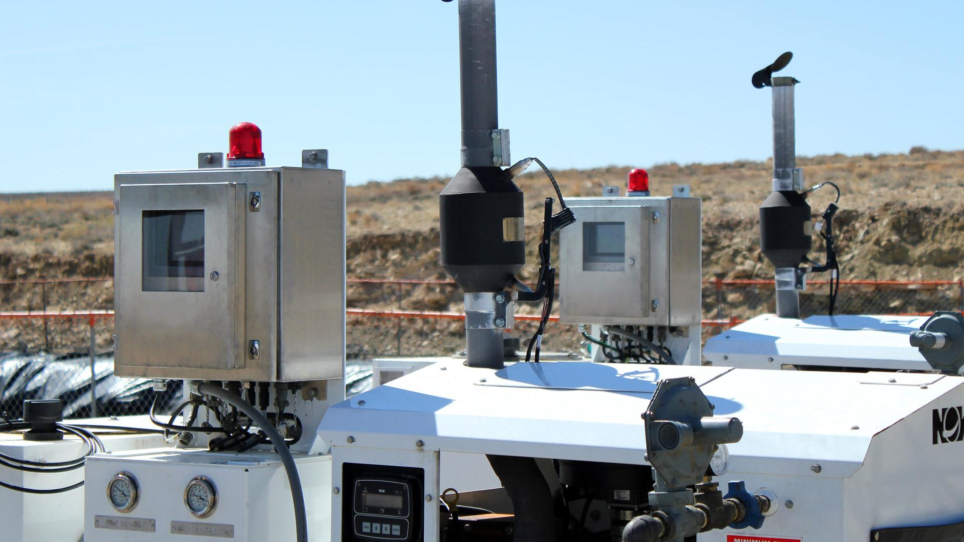 A Hydraulic Pump Controller in action