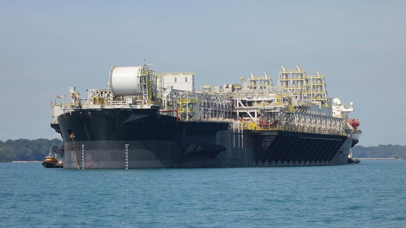 APL Spread Mooring System offshore