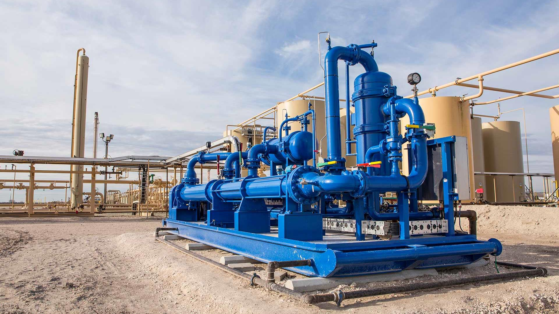 WaterWolf Dynamic Oil Recovery System