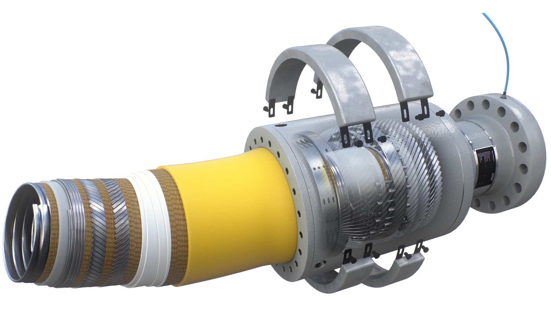 Render of  Flexible Pipe Products