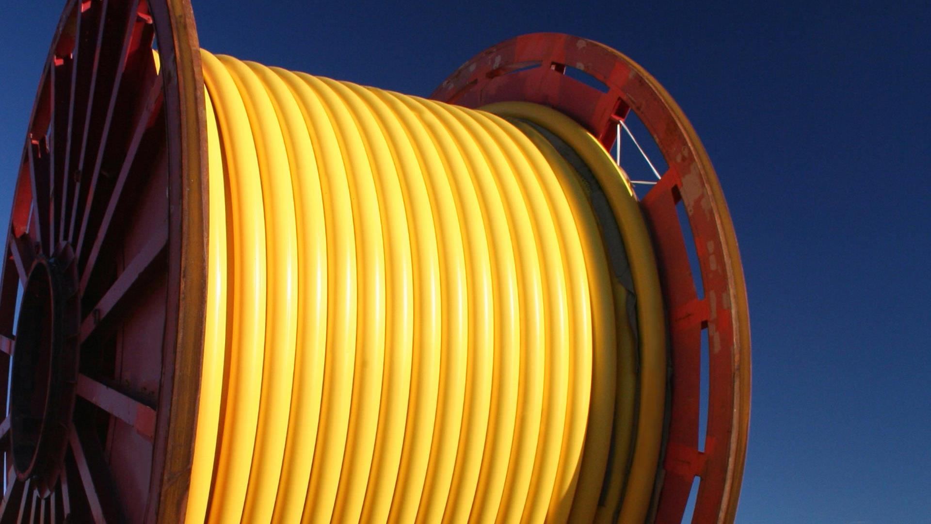 Spole for flexible pipe storage