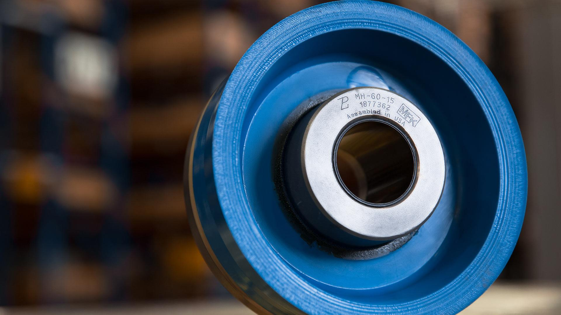 Super-premium bonded piston designed for operating in all drilling environments.