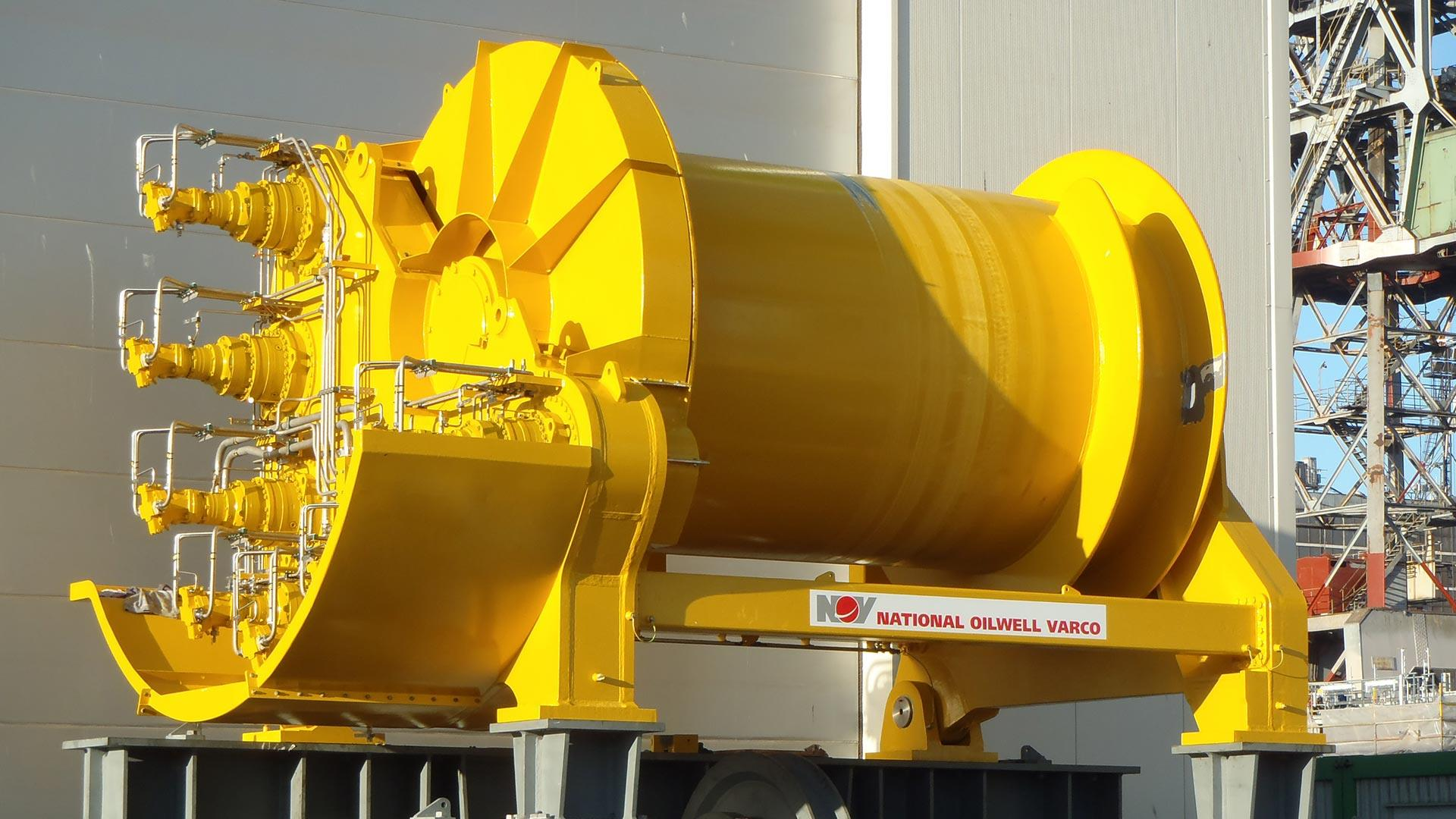 Riser Pull In System winch