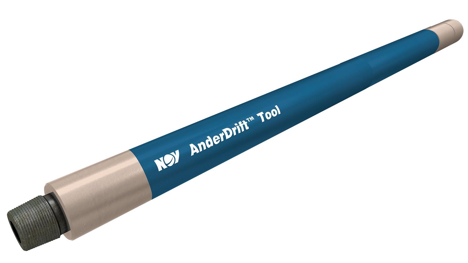 A render of an AnderDrift Mechanical Survey Tool