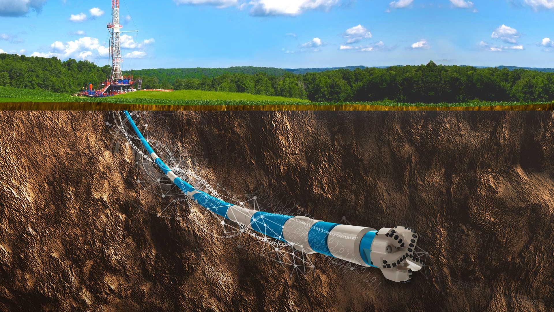 eVolve AUTOMATE drilling through the earth