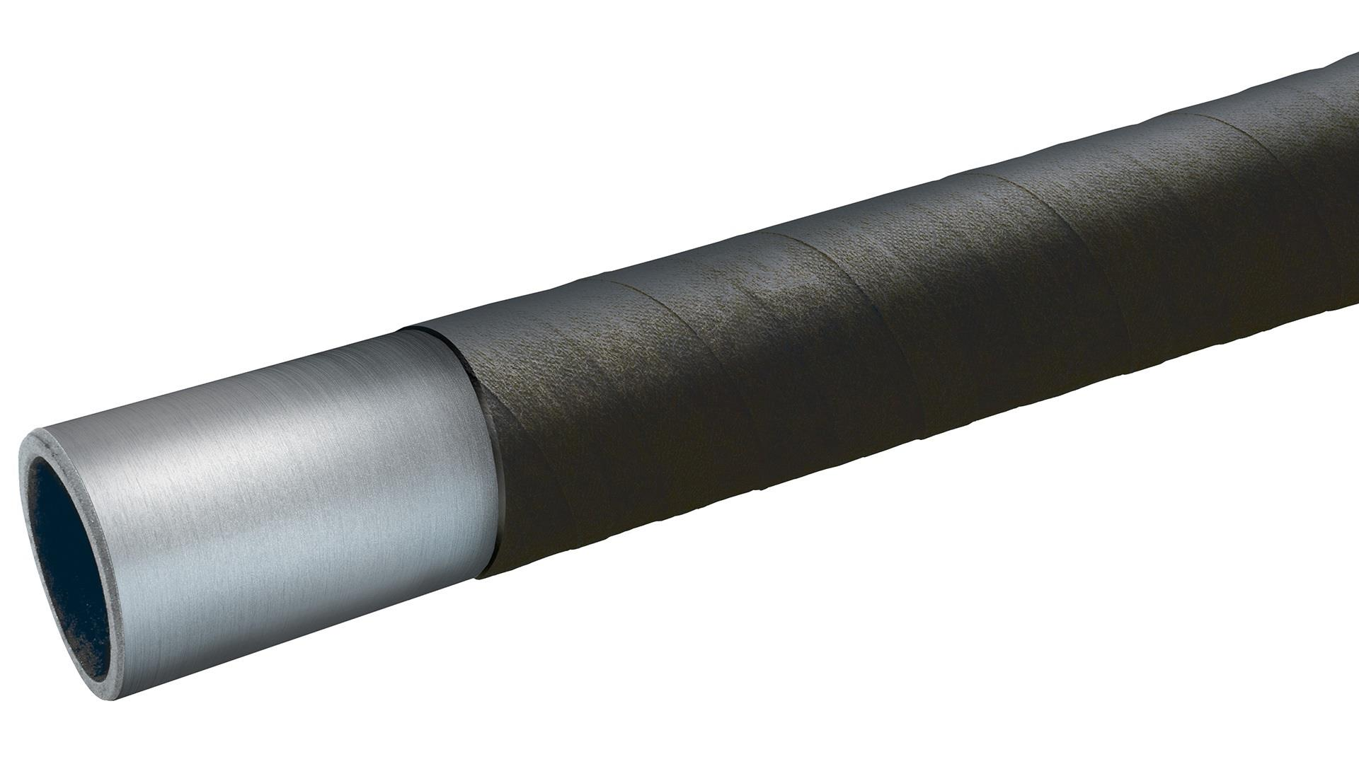 Render of Tubo-Wrap external wrap applied on pipe.