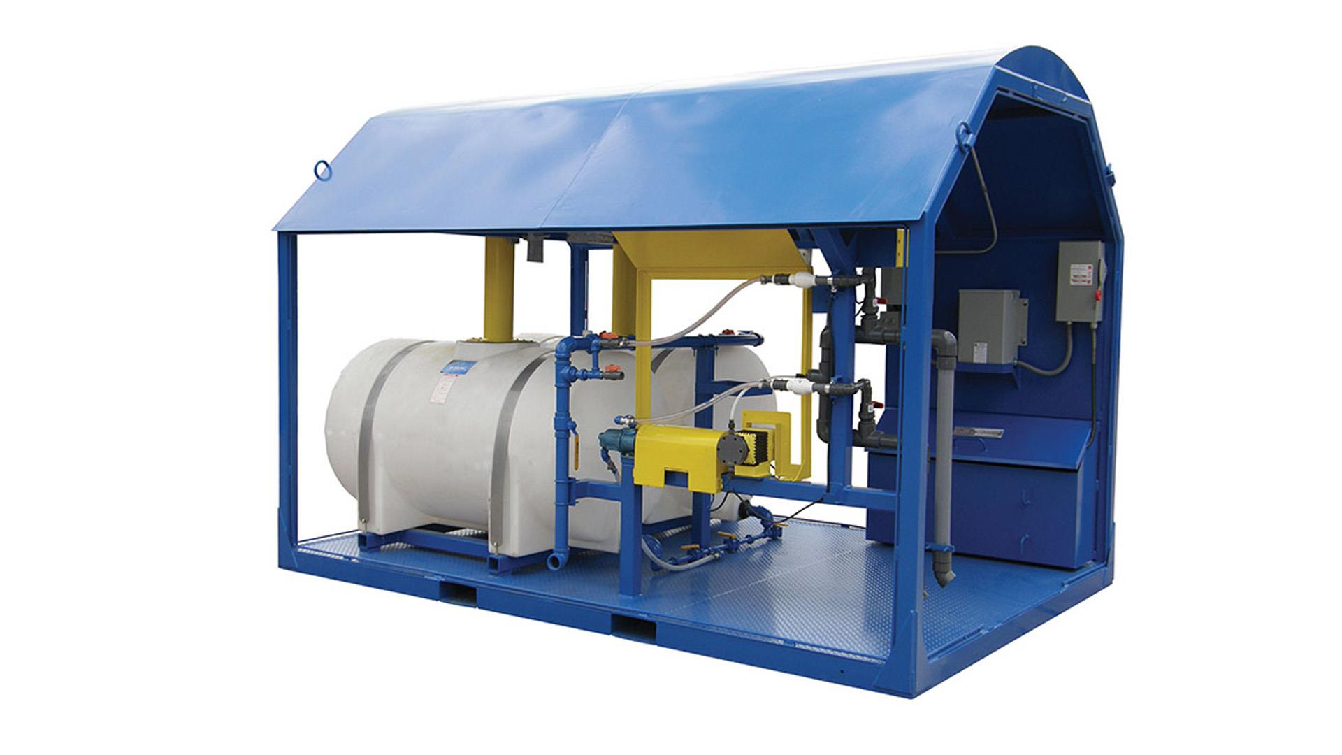 Render of Dewatering System Services