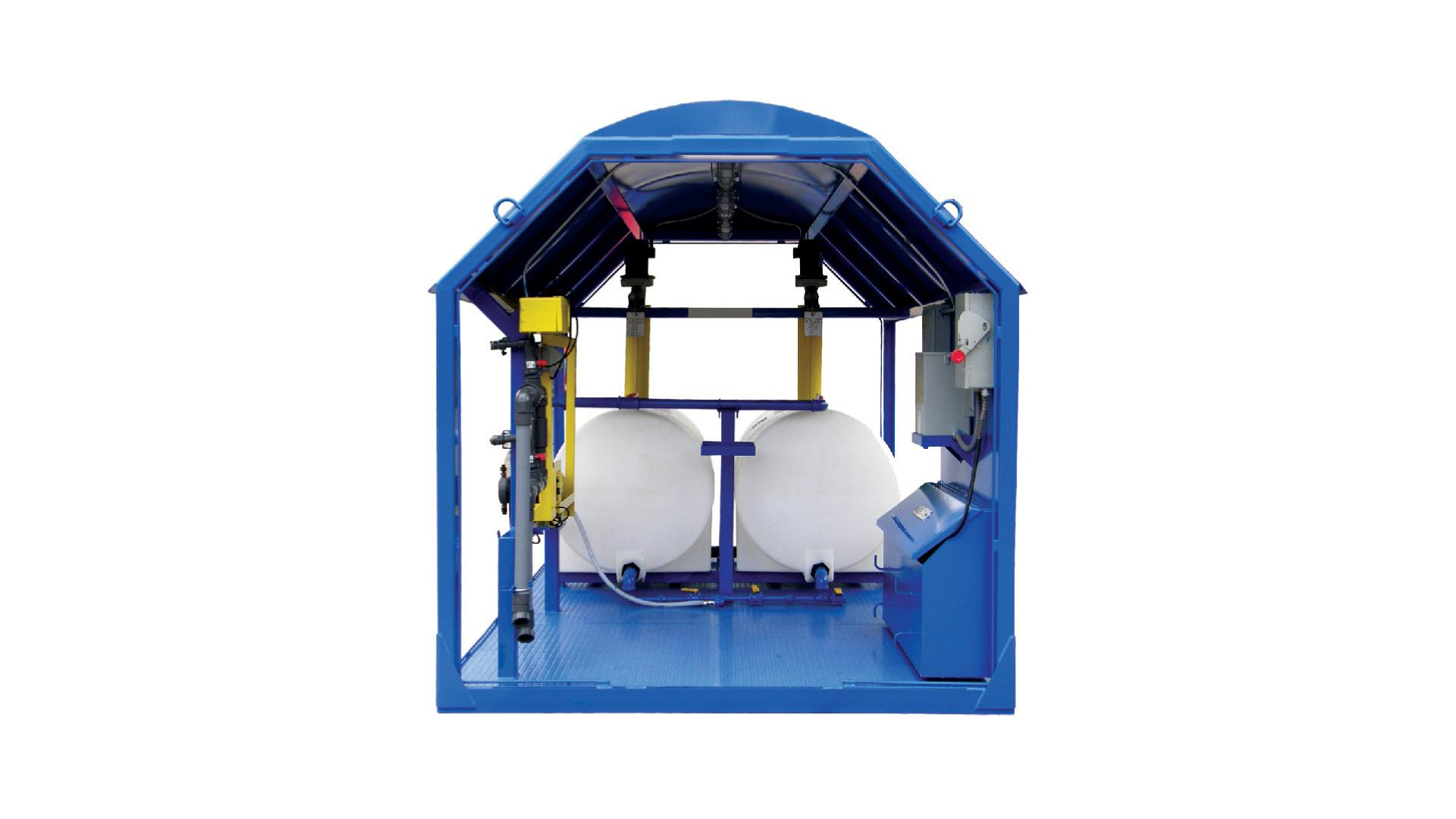 Render of dewatering water based drilling fluids
