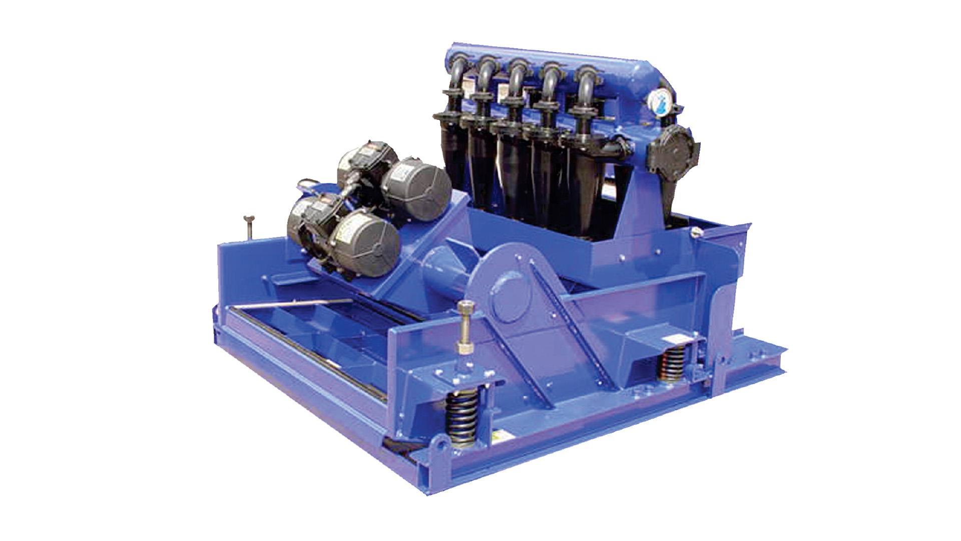 Render of Mini Cobra 2-Panel Mud Conditioner