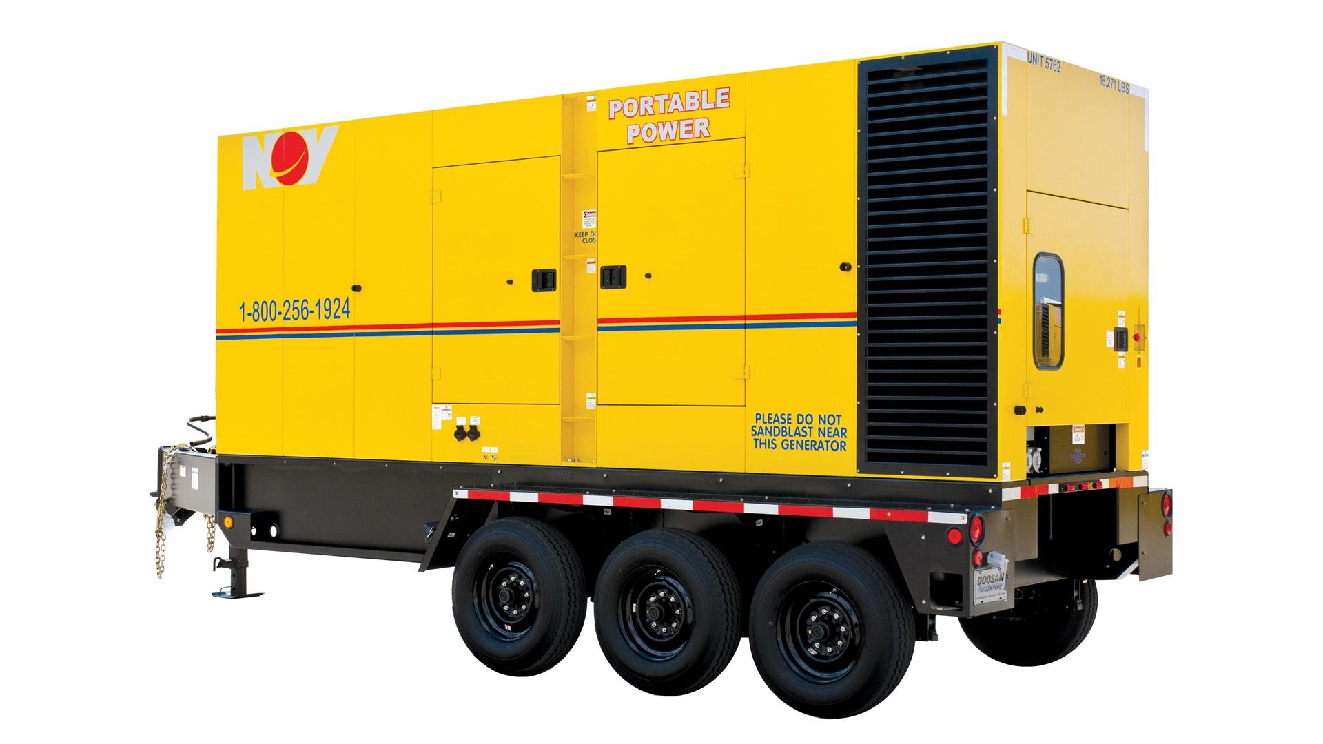 Render of Onshore Diesel Generators US largeportable power unit
