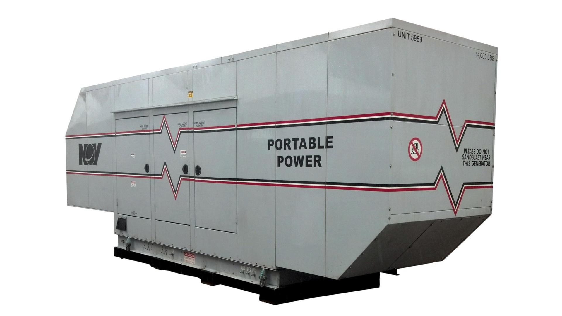 renderof onshore natural gas generator
