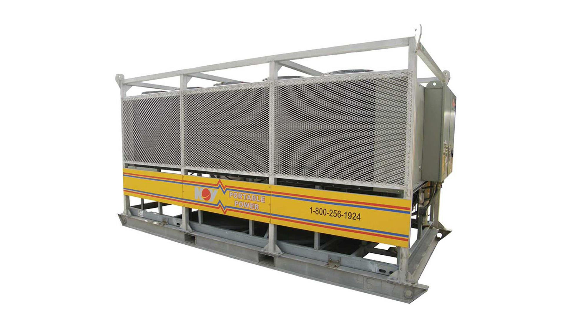 Render  of portable water chillers