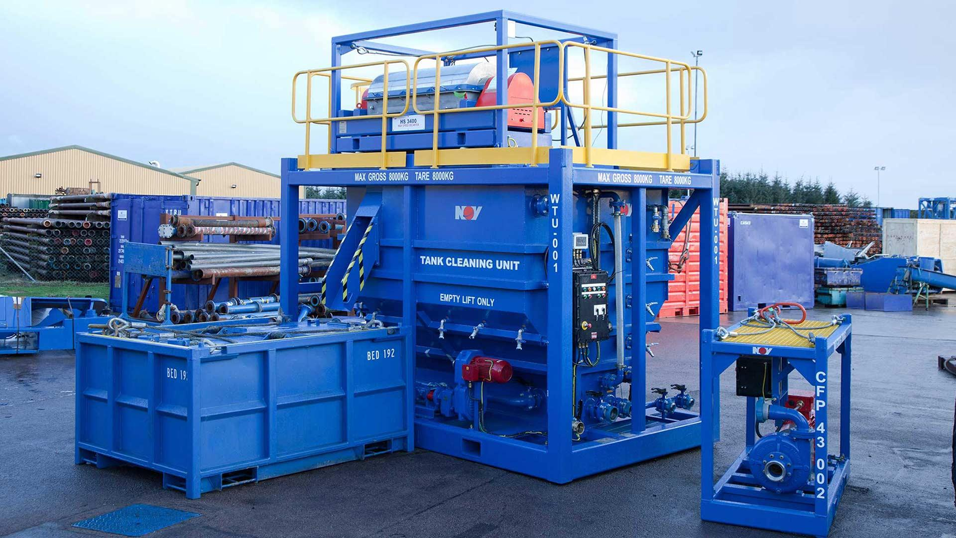 Tank Cleaning Unit