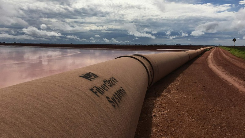 Landscape of fiberglass systems pipeline
