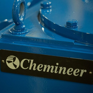 Close up of Chemineer equipment