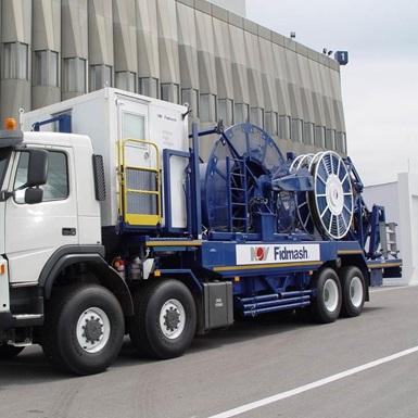 A parked Fidmash truck