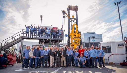 The 2000th TDS 11SA Top Drive built in the Varco facility in Orange California