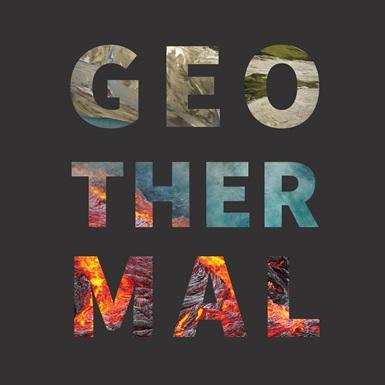 Geothermal word art