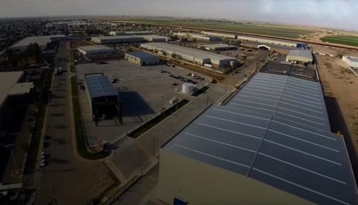 Aerial view of Mexicali facility