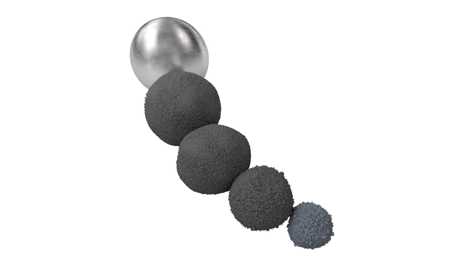 render of d Solve balls