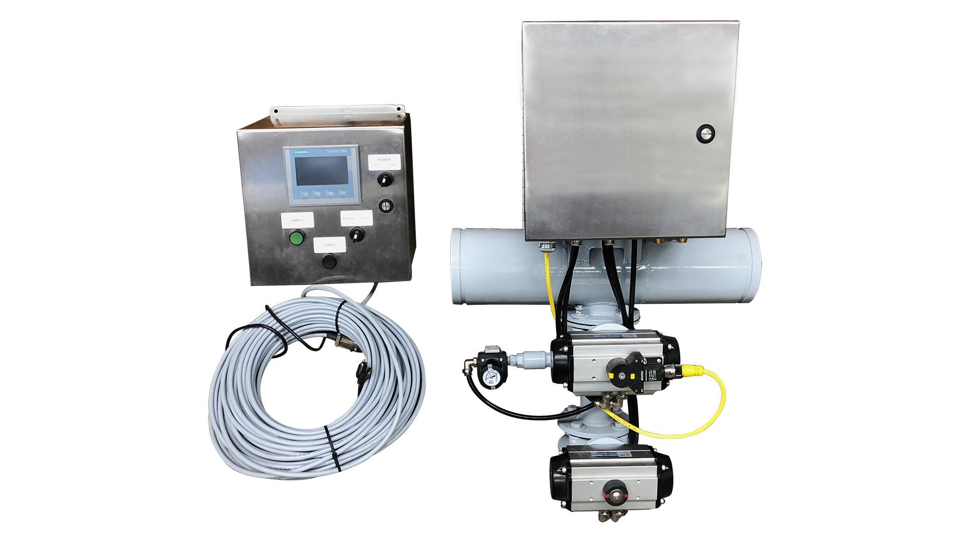 Components of a Wilco Automatic Sample Catcher System