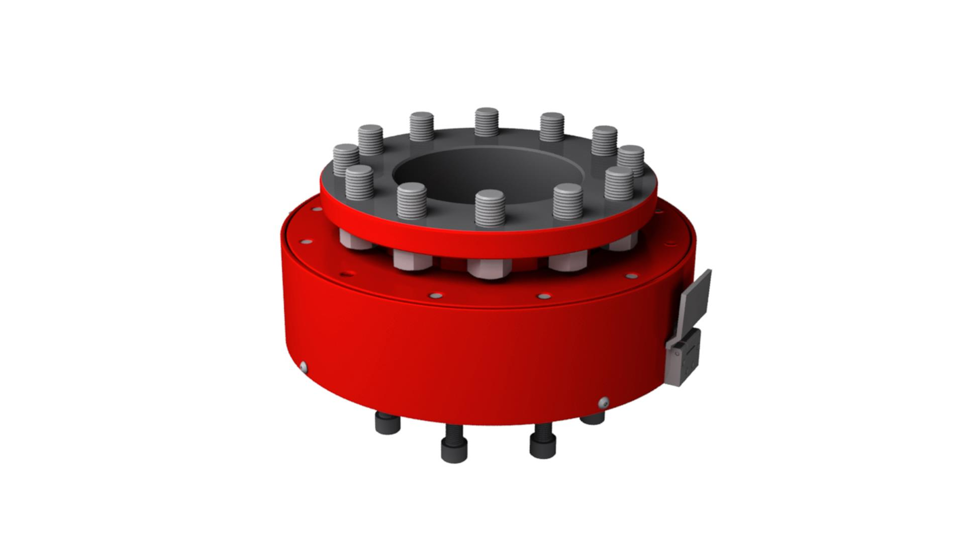 Render of Injector Connector