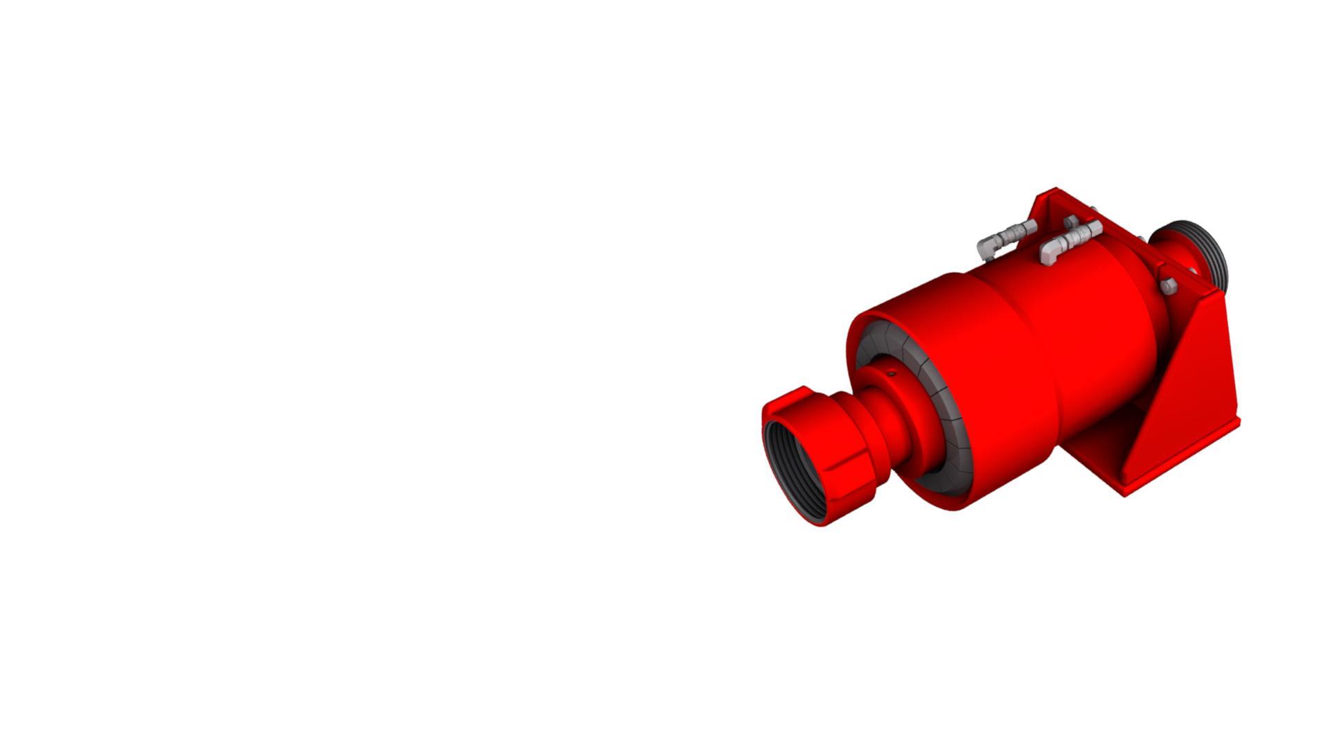 Render of Pressure Control Accessories Quick Disconnect