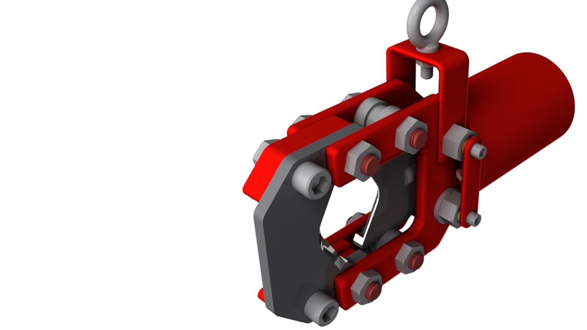Render of Pressure Control Accessories Tubing Cutte