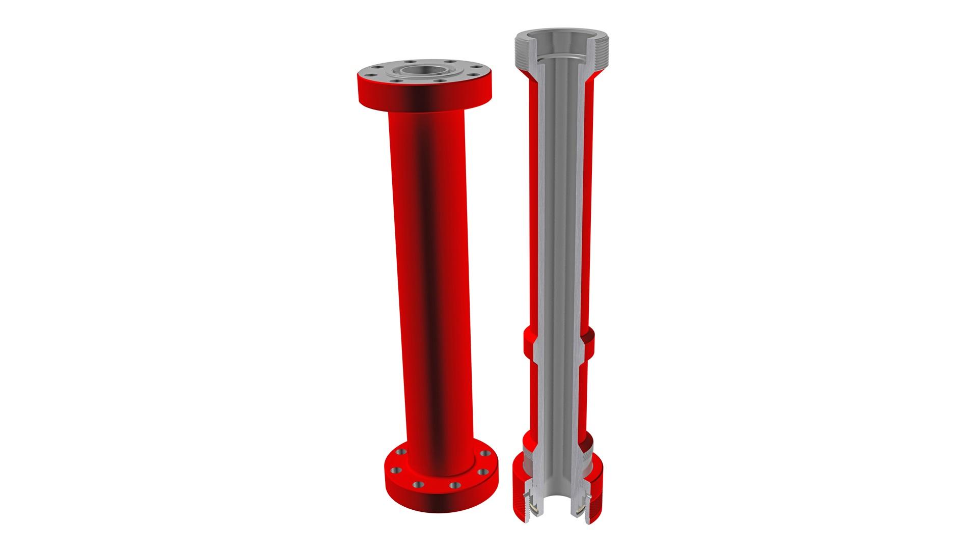 Render of  pressure control accessories