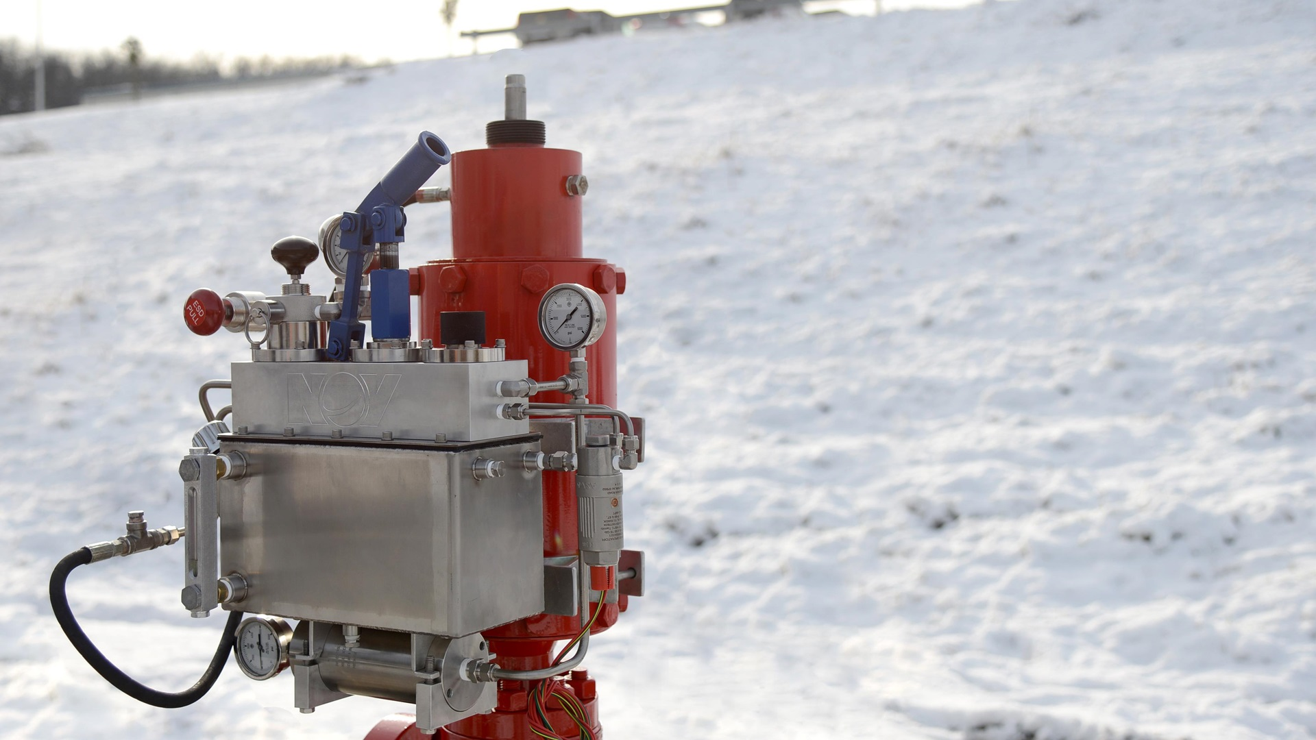 A Hydraulic Self-Contained Shut Down System in a harsh environment