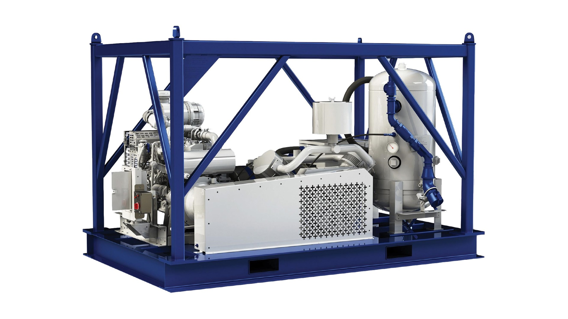Render of Wilco Single Air Compressor