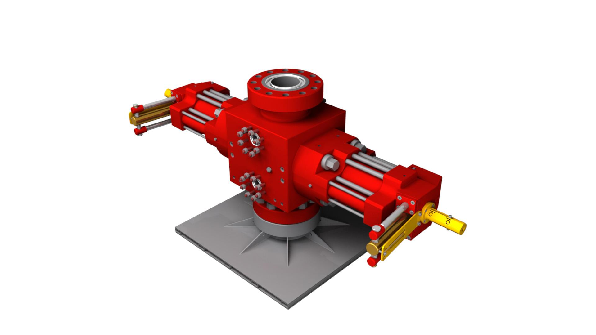Render of Subsea Well Intervention BOP