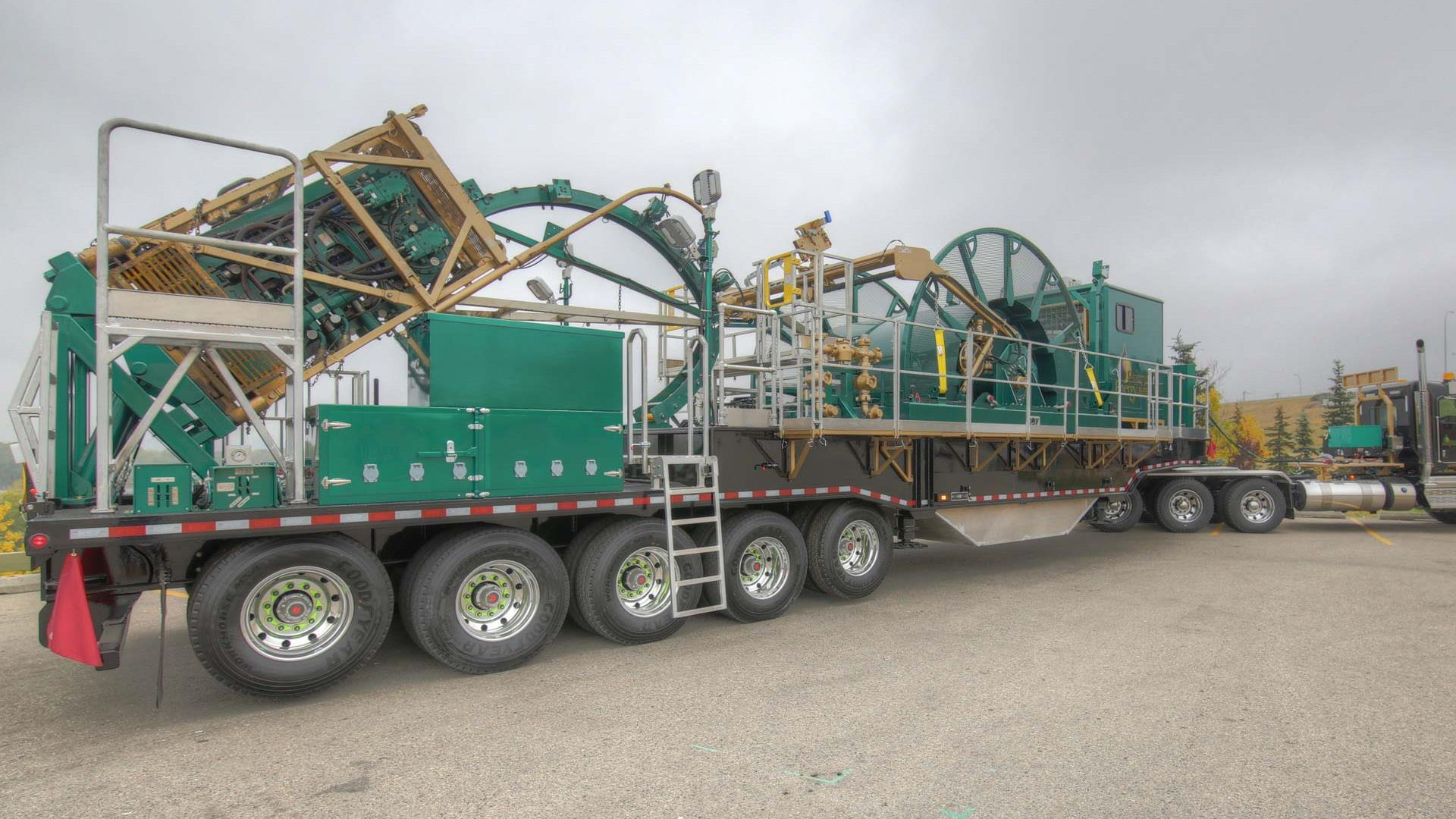 Trailer-mounted Coiled Tubing Units