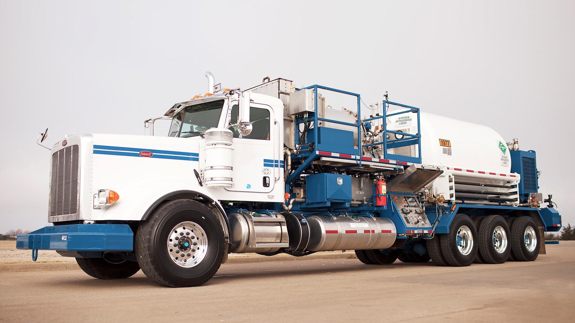 Baker Hughes branded Truck-mounted Nitrogen Unit