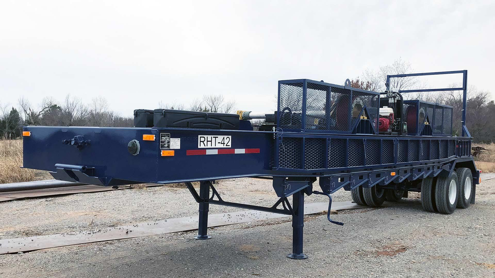 RHT42 2-Reel Spool Handling Trailer