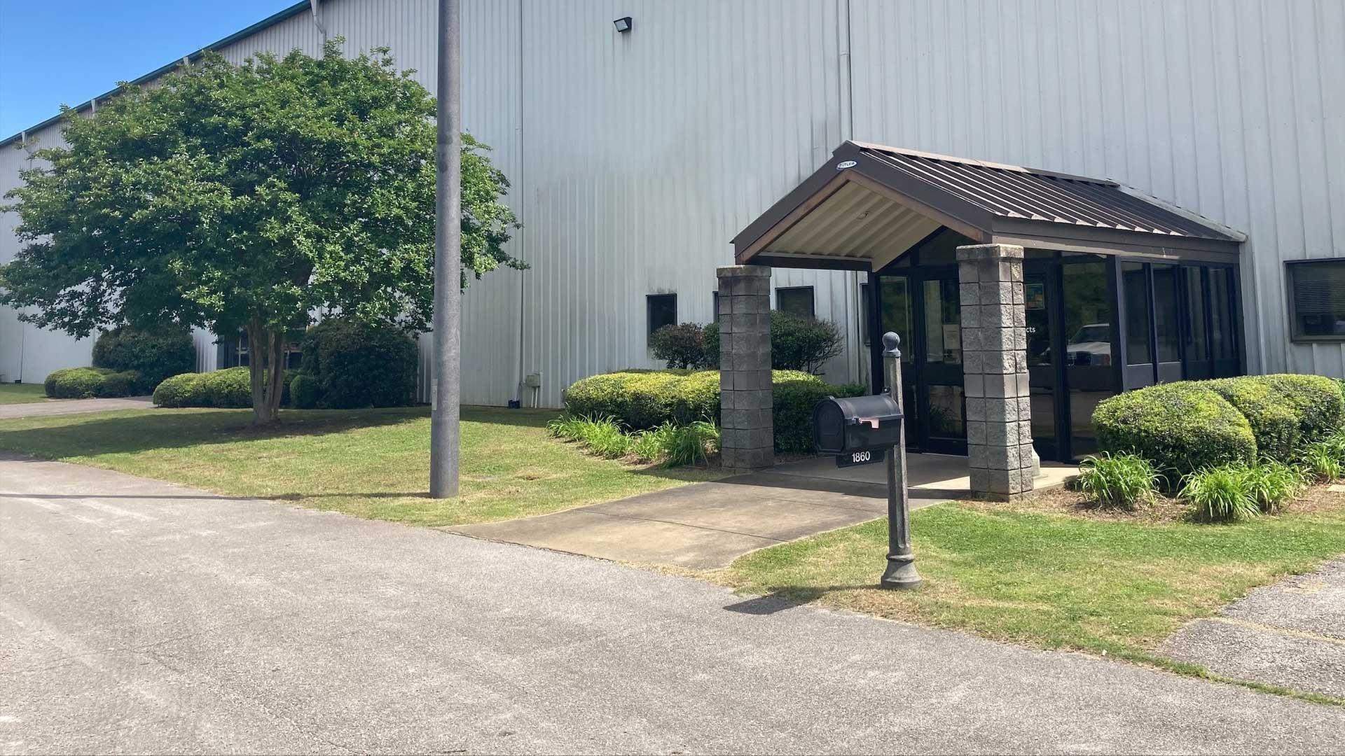 Mailbox Pole at Anniston Facility