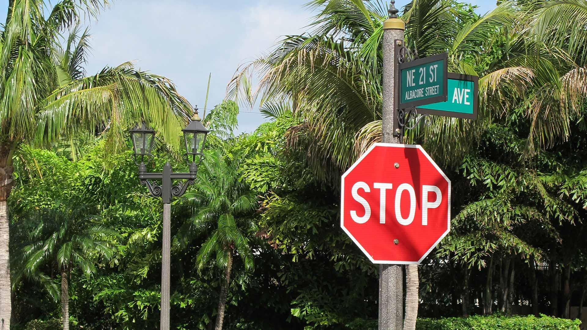 Street Sign Pole