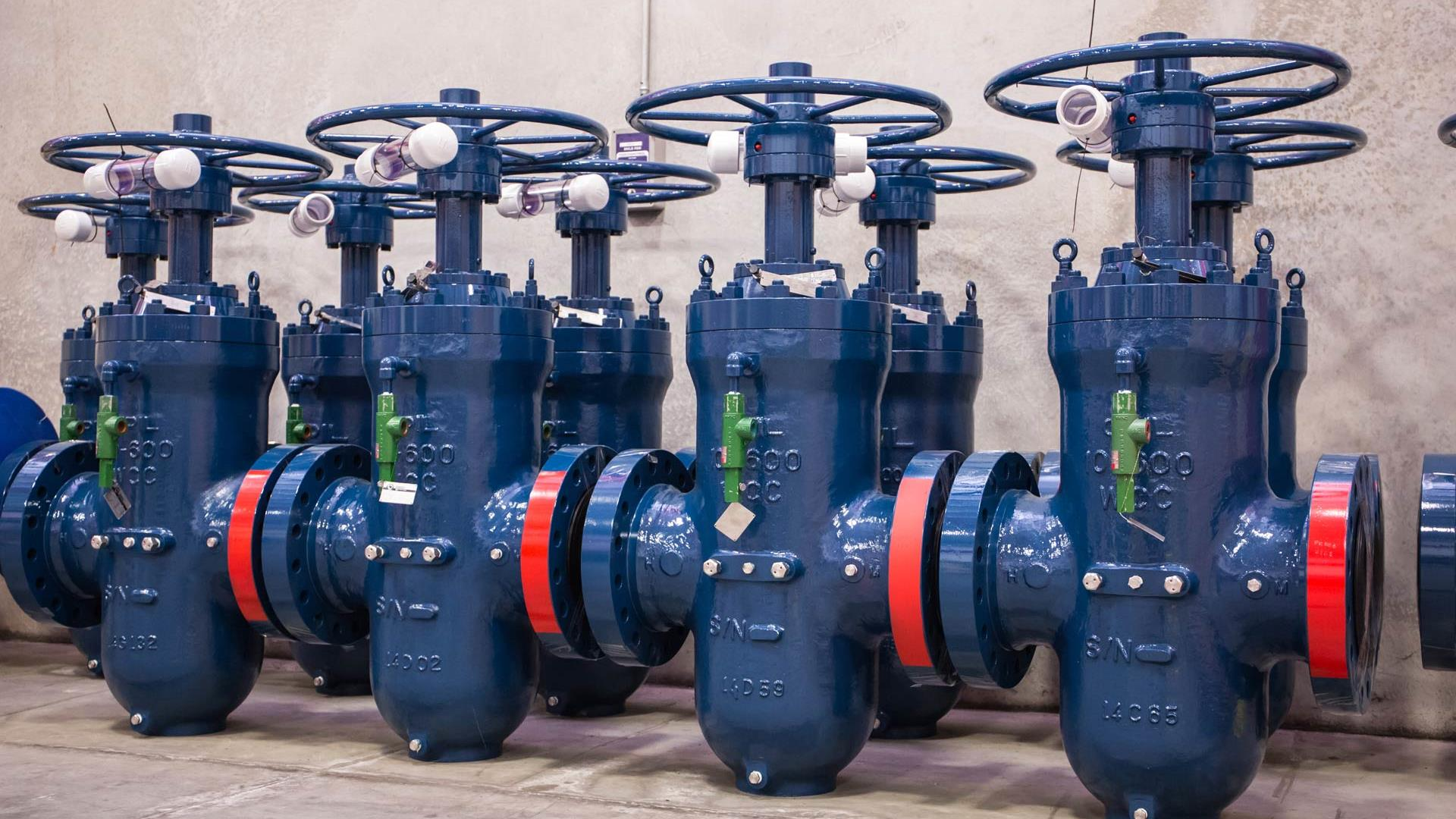 Image of midstream aftermarket valves