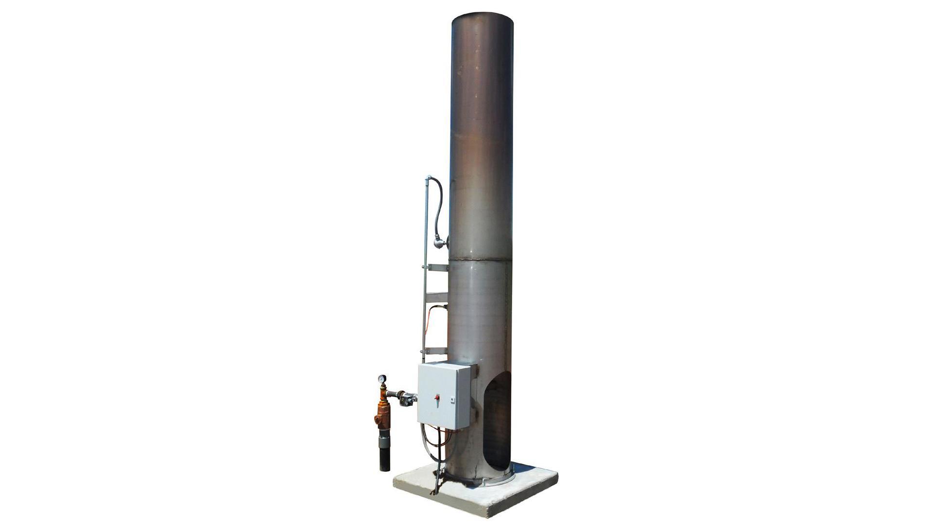 Render of EVC 100 Combustor