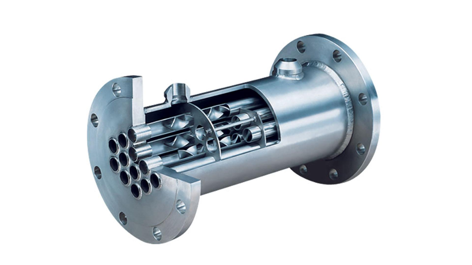 Render of Heat Exchanger