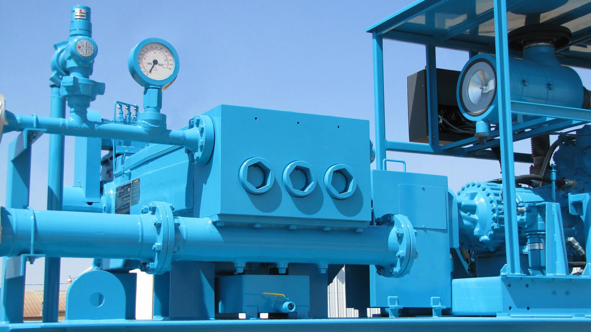Midstream Pumps closeup