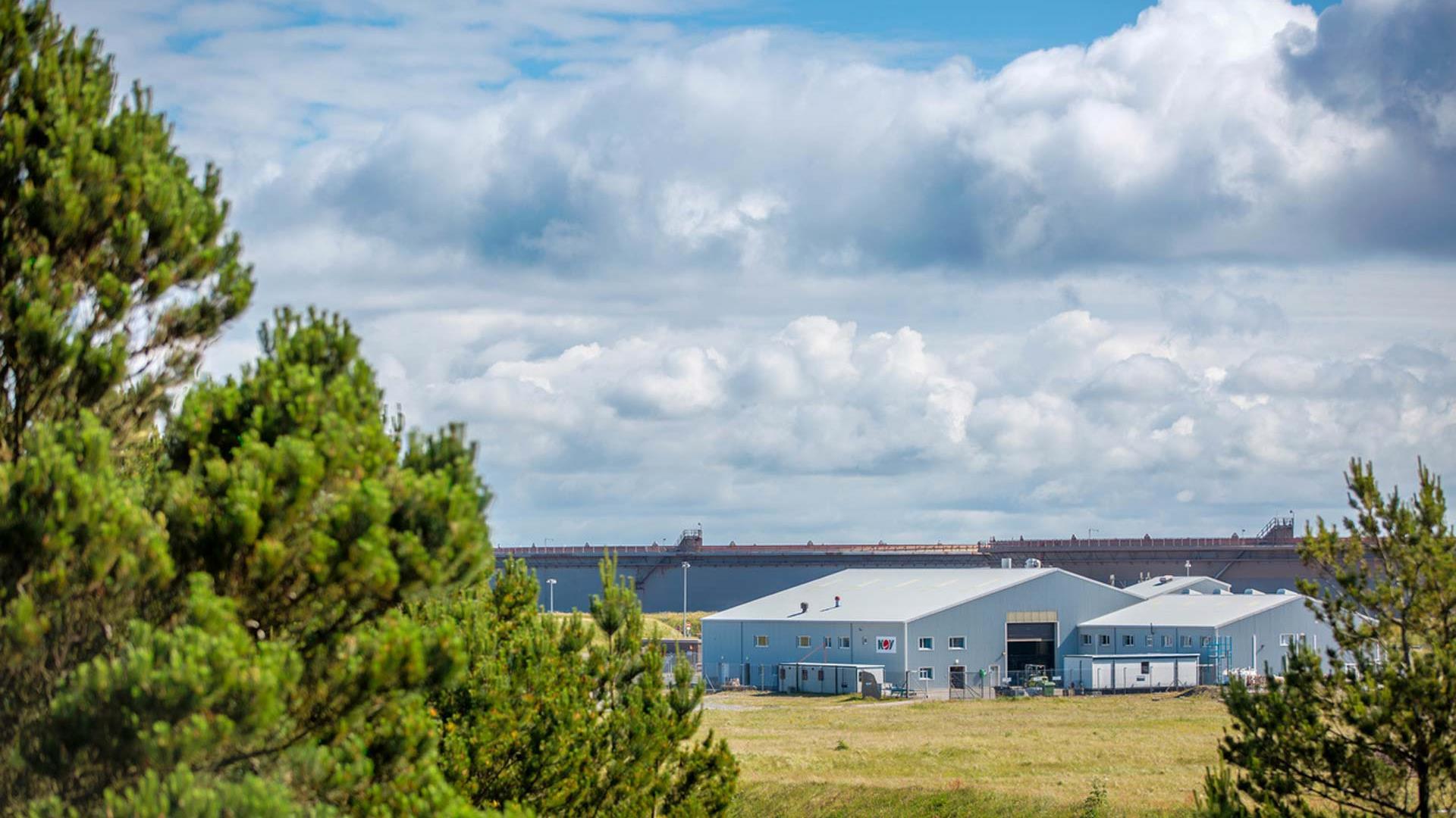 Testing Services Flotta test facility