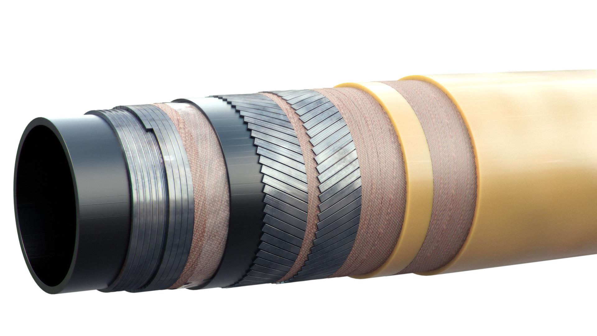 Flexibles AQFlex smooth bore pipe