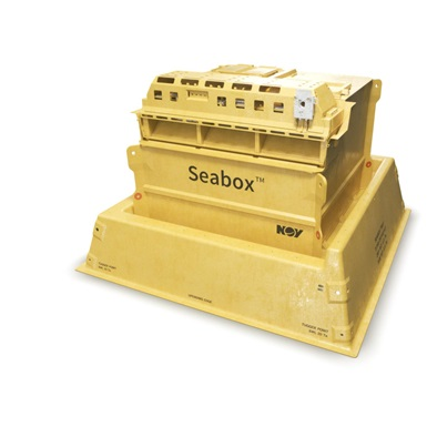 Rendering of the Seabox subsea water treatment module