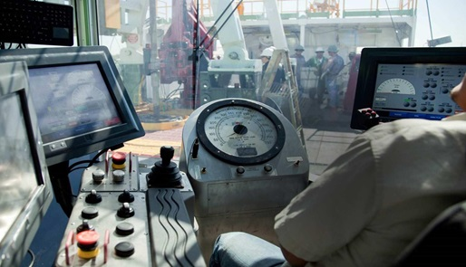 A rig drilling cabin running M/D Totco software